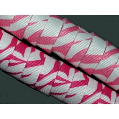 "5 yards 3/8"" Bold Zebra Print Grosgrain Ribbon"