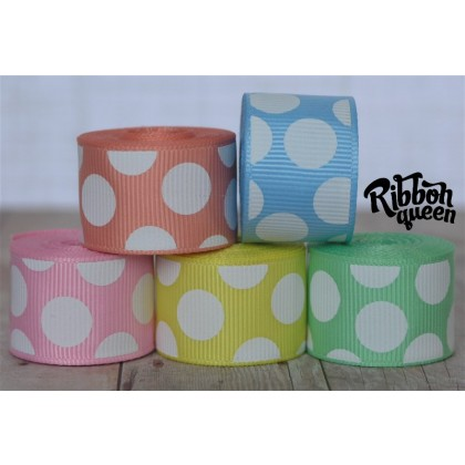 10 yards Pastel Funky Dots Filler Mix
