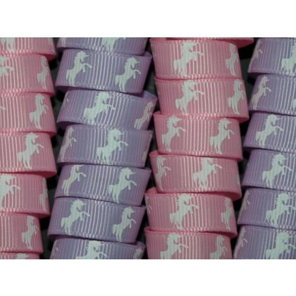 4 Yards 3 8 Quot Unicorn Print Grosgrain Ribbon