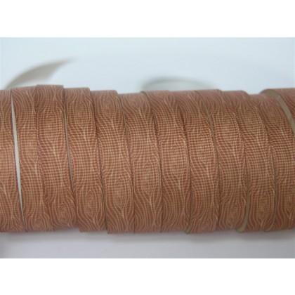 """3/8"""" Wood Grain Print Grosgrain Ribbon"""