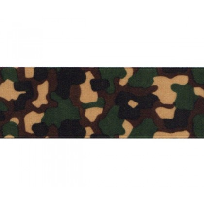5 yards Schiff Camouflage Camo Print Grosgrain Ribbon