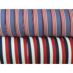 "5 yards 5/8"" American Patriotic Stripes Grosgrain Ribbon"