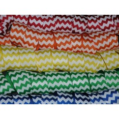 "50 yards 1.5"" Chevron Stripe Grosgrain Ribbon"