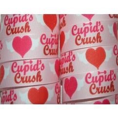 """7/8"""" Cupid's Crush Print Grosgrain Ribbon"""