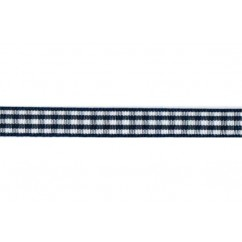 "5 yards 3/8"" Gingham Taffeta Ribbon"