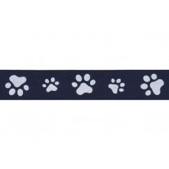 "100 yards 5/8"" Paw Print Grosgrain Ribbon"