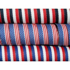 "5 yards 3/8"" American Patriotic Stripes Grosgrain Ribbon"