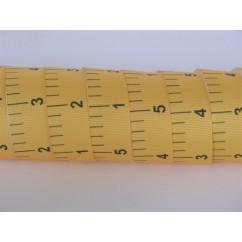 """5 yards 7/8"""" School Ruler Print Grosgrain Ribbon"""