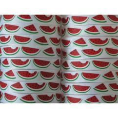 "3/8"" Watermelon Print Grosgrain Ribbon"