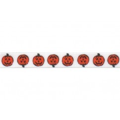 100 yards Halloween Print Grosgrain Ribbon