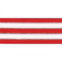 "5 yards 1.5"" Christmas Stripes Grosgrain Ribbon"