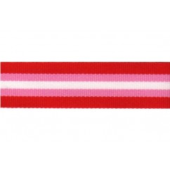 "5 yards 7/8"" Preppy Stripes Grosgrain Ribbon"
