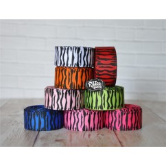 "5 yards 7/8"" Zebra Print Grosgrain Ribbon"