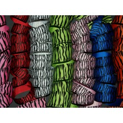 "5 yards 1.5"" Zebra Print Grosgrain Ribbon"