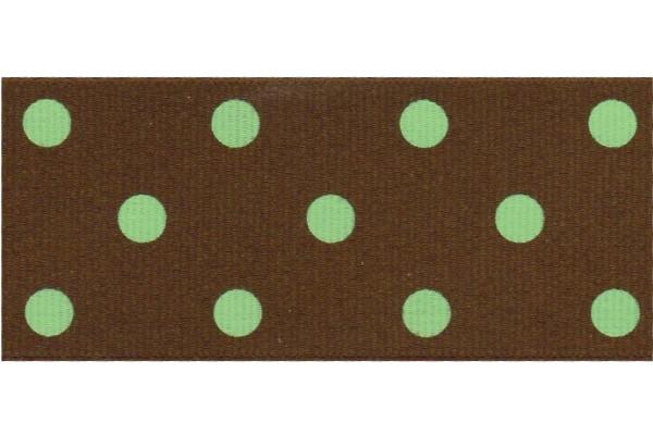 5 yards 1 5 offray colored polka dot grosgrain ribbon. Black Bedroom Furniture Sets. Home Design Ideas